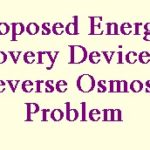 proposal for energy recovery device